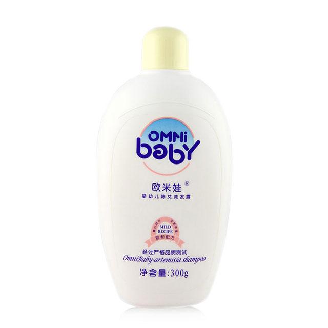 欧米娃(OMNi baby) 婴幼儿陈艾洗发露 300g