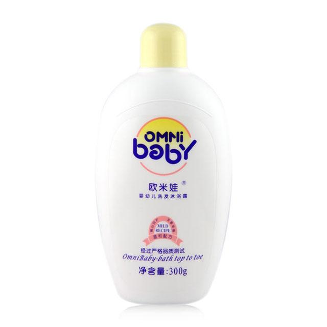 欧米娃(OMNi baby) 婴幼儿洗发沐浴露 300g