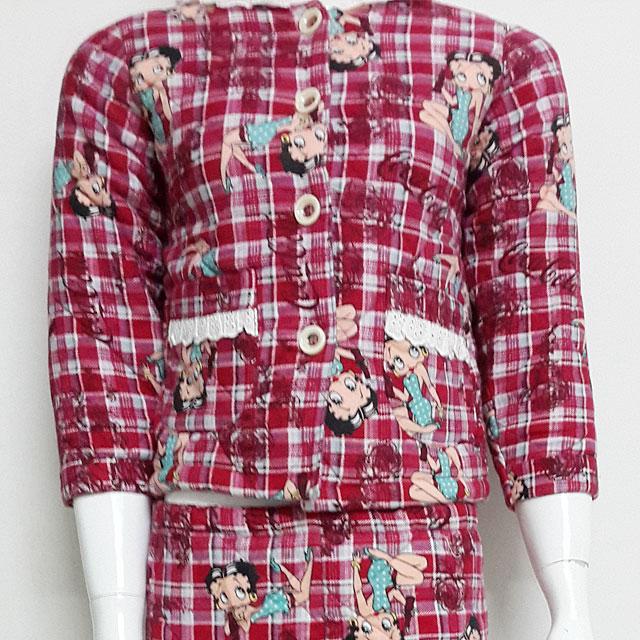 丝立方 silkcube 家居服 女童 全棉 蚕丝 睡衣
