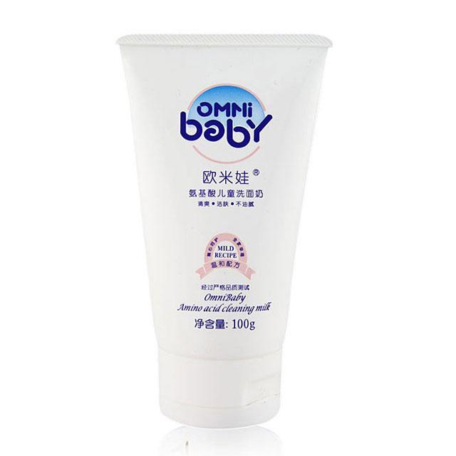 欧米娃(OMNi baby) 氨基酸儿童洗面奶 100g