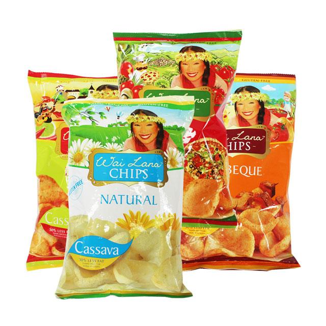 Wai Lana 蕙兰农庄 木薯片 印度尼西亚进口 6种口味/85g