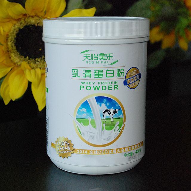 天怡美乐 100%澳洲天然乳清蛋白粉 无添加 桶装 400克
