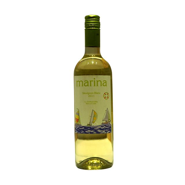 智利玛瑞拉长相思2011年干白葡萄酒(Marina Sauvignon Blanc) 玛瑞拉 PT1409  750ml