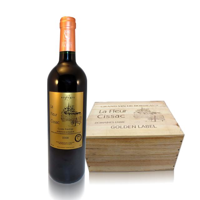 法国进口葡萄酒 老佛爷尊荣超级波尔多2009年干红葡萄酒(La Fleur Cissac Bordeaux Superieur)老佛爷 PT1637 750ml
