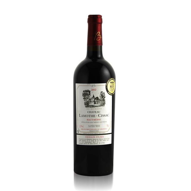 法国进口葡萄酒 拉梦莎珍藏2002年干红葡萄酒(Domain Fabre Chateau Lamothe-Cissac Vieilles Vignes)拉梦莎 PT1293 750ml