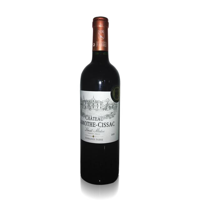 法国进口葡萄酒 拉梦莎2009年干红葡萄酒(Domain Fabre Chateau Lamothe-Cissac) 拉梦莎  PT1639 750ml