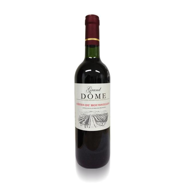 法国进口葡萄酒  贵妇系列大多美2011年干红葡萄酒(Le Grand Dome AOP)贵妇系列大多美  PT1743 750ml
