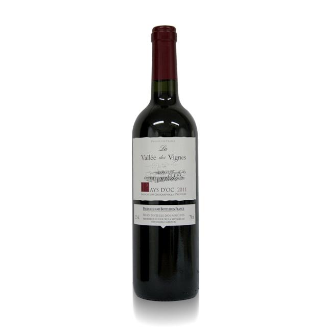 法国进口葡萄酒  金粉世家2011年干红葡萄酒(La Vallee des vignes IGP) 金粉世家  PT1741 750ml