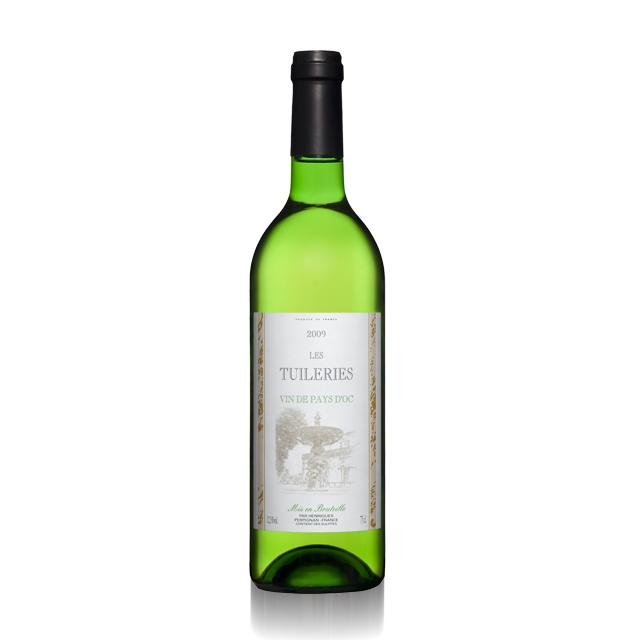 法国进口葡萄酒 恬悦2011年干白葡萄酒(Les Tuileries Blanc VDP) 恬悦  PT1548  750ml
