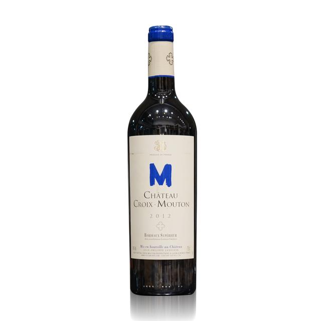 法国进口葡萄酒 十字木桐2012年干红葡萄酒(Chateau Croix-Mouton) 十字木桐  PT2006  750ml