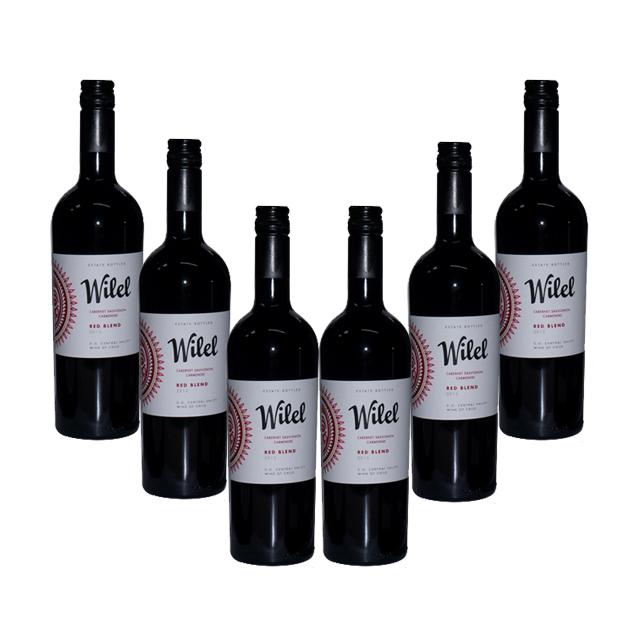 智利进口葡萄酒 6支 维力安2013年干红葡萄酒(WILEL red wine)维力安  PT2299  750ml*6