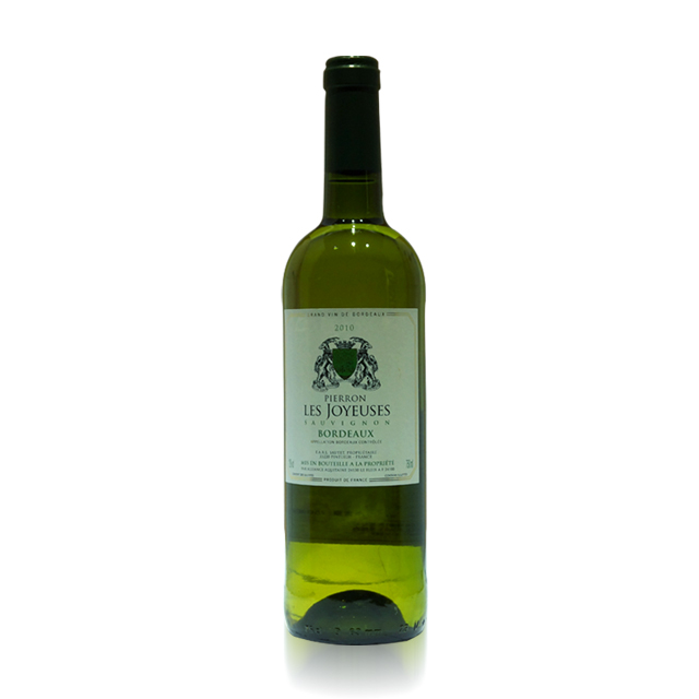 法国进口葡萄酒 佩隆庄园2010年干白葡萄酒(Château Pierron Blanc)  佩隆庄园  PT0897  750ml