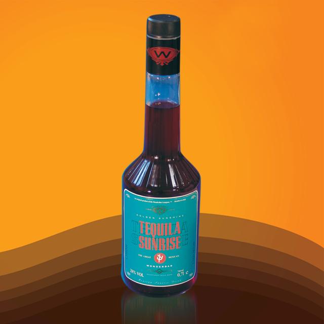 进口预调酒 炫吧日出利口酒(配制酒)(Tequila Sunrise) 炫吧  YJ2367  700ml