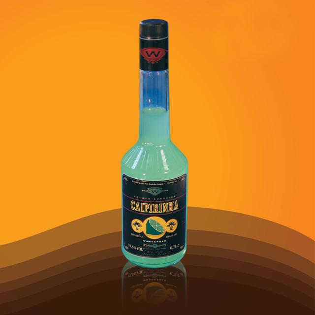 进口预调酒 炫吧凯匹林纳利口酒(配制酒)(Caipirinhi)炫吧 YJ2363 700ml
