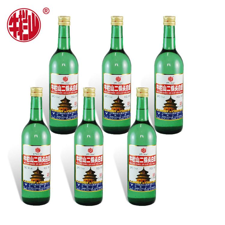 牛栏山出口美国二锅头56度 清香型750ml*6瓶 (箱装)