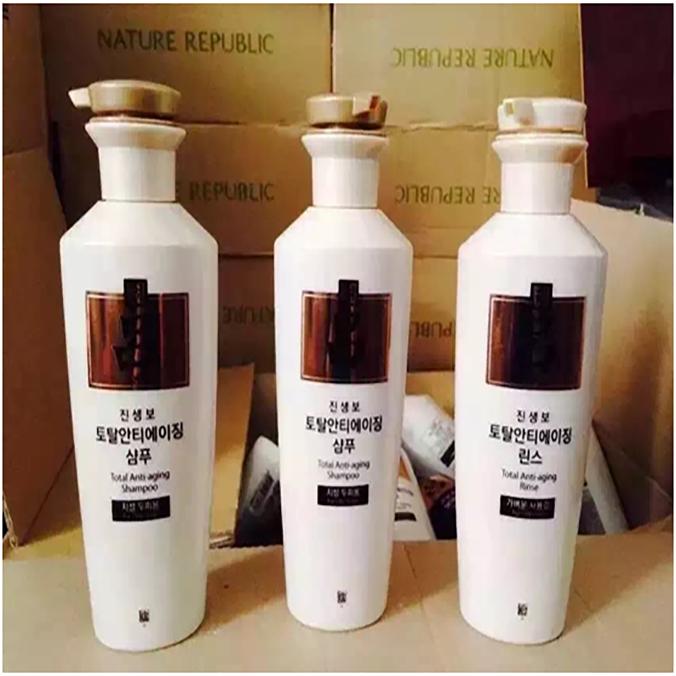 韩妆-韩国RYPE吕参宝白吕洗发水+护发素