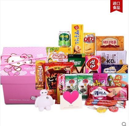 韩国进口零食大礼包